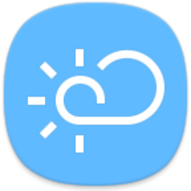 Samsung weather forecast 1.5.50.4 by Samsung Electronics Co., Ltd. logo