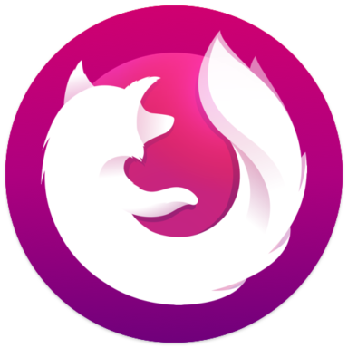 Firefox Focus: The privacy browser 9.0 by Mozilla logo